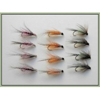 12 Dabblers - Orange, Claret & Green
