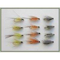 12 Dabblers - Sooty, Orange, Golden