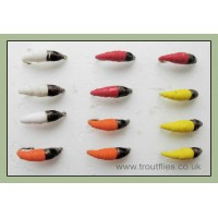 12  Maggot, Mixed Colours