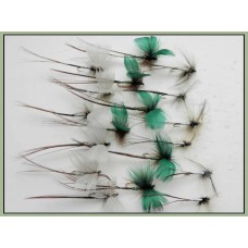 18 Mayflies - GREEN Drake, GREY Drake & SPENT Mayfly