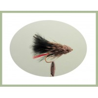 Black Muddler Minnow