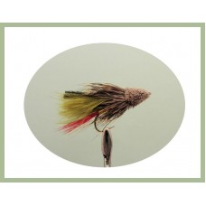 Barbless Olive Muddler Minnow