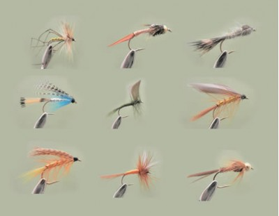 Individual Fishing Flies