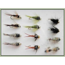 12 Goldhead Nymph - Mixed Pack