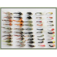50 Gold head Nymph and Buzzer Mixed Pack
