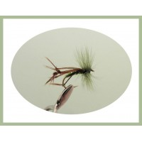 Olive Hackled Hopper