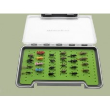 24 Beetles in a Large Troutflies Silicone Insert Box